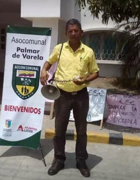 Asesinan a líder Comunal en Palmar de Varela, ex candidato al Concejo del Centro Democrático