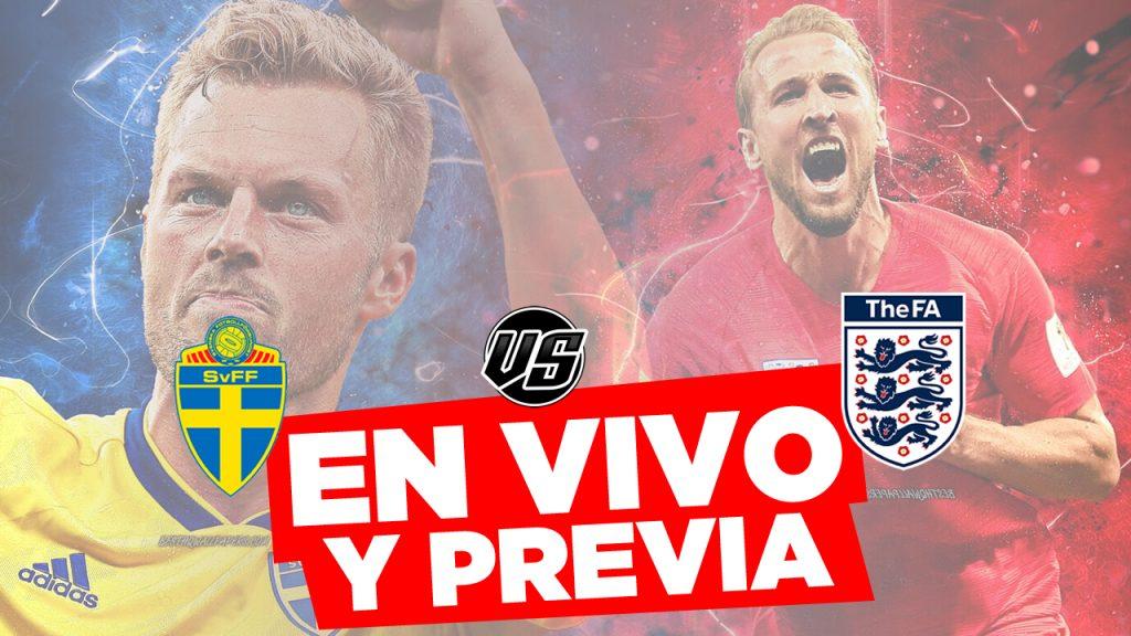 Suecia vs Inglaterra en Vivo Mundial 2018 por cuartos de Final Previa y Horarios en el Mundo