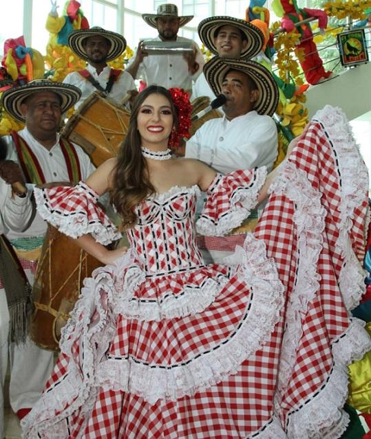 Carolina Segebre Abudinen es la nueva soberana del Carnaval de Barranquilla 2019