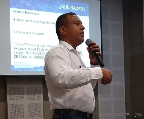 Destacada participación de Unisimón en IV Encuentro Regional de Neurología en Montería