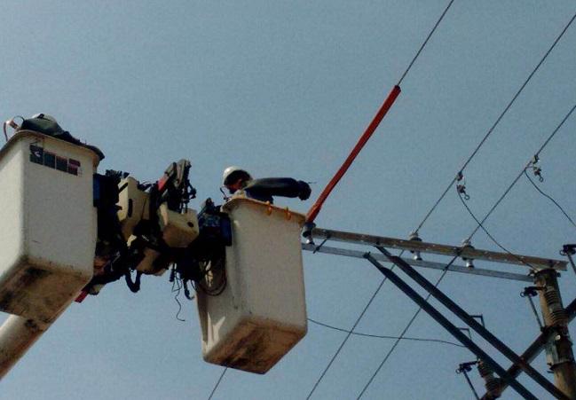 Electricaribe repara daños  ocasionados por lluvias
