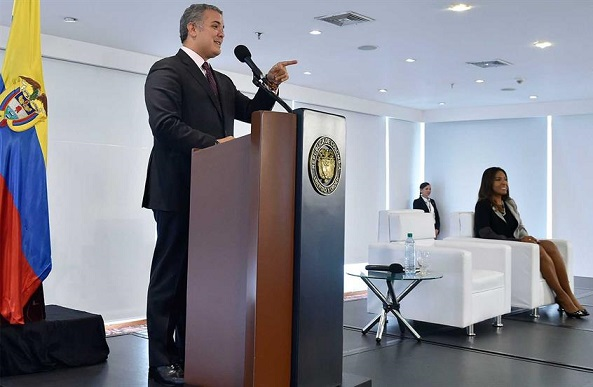 Presidente anunció línea de crédito de Bancóldex, por 130 mil millones de pesos, para impulsar proyectos de Economía Naranja