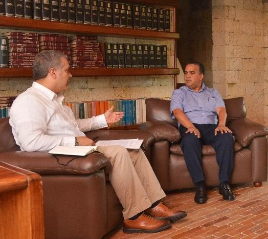 Pedrito Pereira, nuevo alcalde de Cartagena nombrado por el Presidente Iván Duque