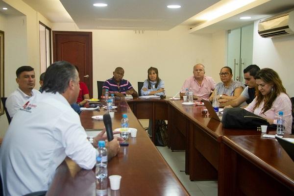 Asamblea en mesa de trabajo por el desarrollo agropecuario y rural del Atlántico