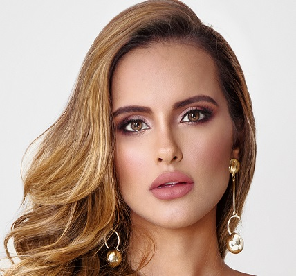 Sheyla Quizena designada Miss Grand Internacional viaja para competir del 5 al 25 de octubre en Rangún, Birmania