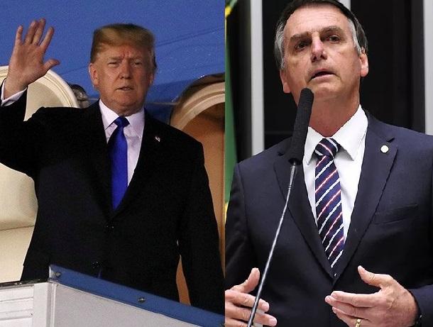 Presidente de EEUU felicitó este domingo vía telefónica a Jair Bolsonaro. Mandatarios de Latinoamerica también