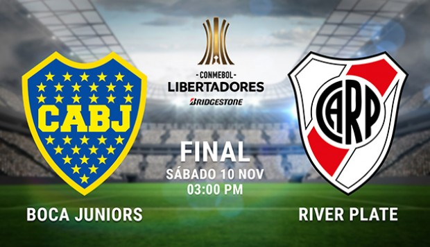 Superfinal de Libertadores: Boca Juniors vs. River Plate EN VIVO Online