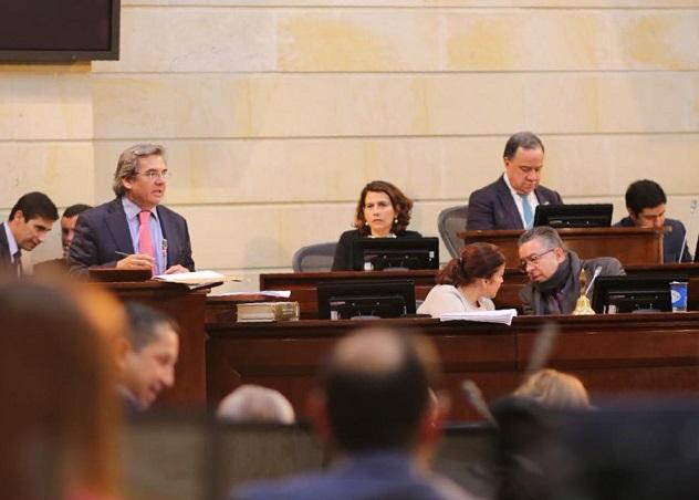 Aprobada en Comisiones Primeras conjuntas prórroga a la Ley de Orden Público. Pasa a Plenarias de Senado y Cámara