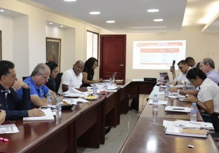 Diputados del Atlántico atienden a Secretarios en estudio del Presupuesto 2019 para el Atlántico