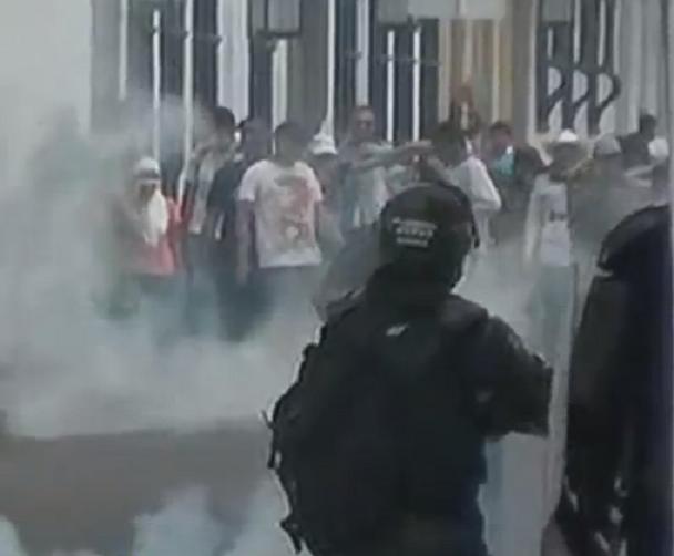 Intereses de quiénes protegen las marchas? Por: Duván Idárraga