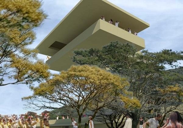 Gobernador Francisco Ovalle y alcalde de Valledupar Augusto Ramírez dieron inicio a la construcción de la Casa en el Aire