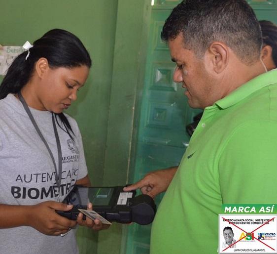 Avalado por el Partido Asi y Centro Democrático, Riohacha eligió este domingo a Juan Carlos Suaza como su nuevo alcalde