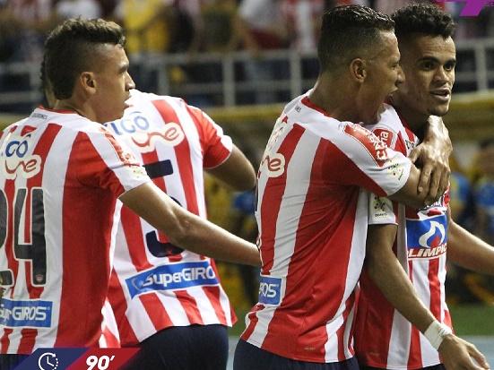 Fueron 4 goles los que le sembró el Junior de Barranquilla al Independiente Medellín en el Metropolitano. El equipo viajó de inmediato a Brasil