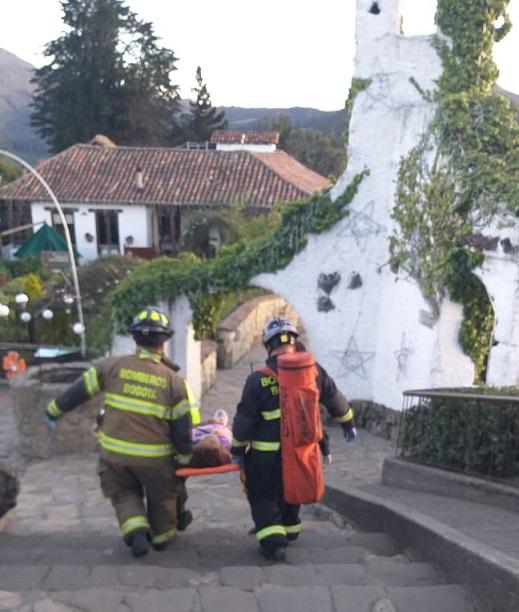 Accidente en el teleférico de Monserrate dejó 20 personas heridas
