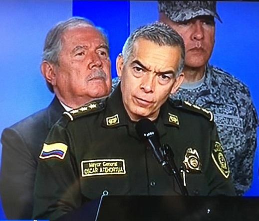 20 cadetes jóvenes, casi niños víctimas del ataque terrorista. El 21 era el autor del atentado: Director General de la Policía, Óscar Atehortúa
