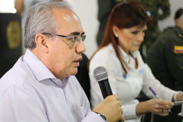 En Consejo de Seguridad en Santa Marta con la presencia del director de la UNP, se evalúa riesgos de líderes sociales