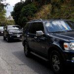 Desde su residencia en Caracas salió Juan Guaidó hacía la frontera. Viajó en una carabana con más de 12 vehículos, se cree que ya llegó