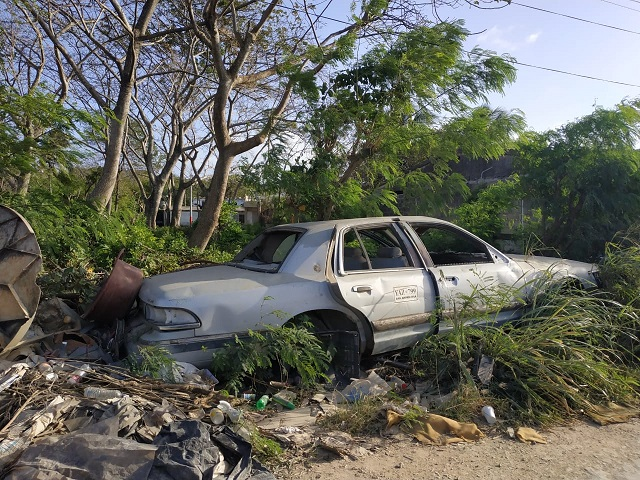 Elementos chatarra que contaminan San Andrés deben ser retirados por orden de Procuraduría