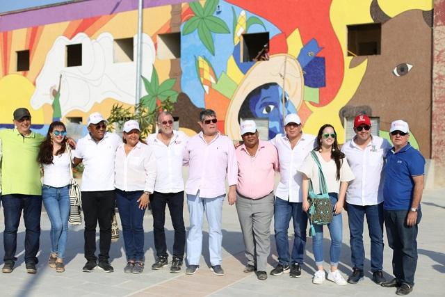 En maratónica jornada diputados del Atlántico visitaron los avances de las obras en el departamento aprobadas por la Asamblea