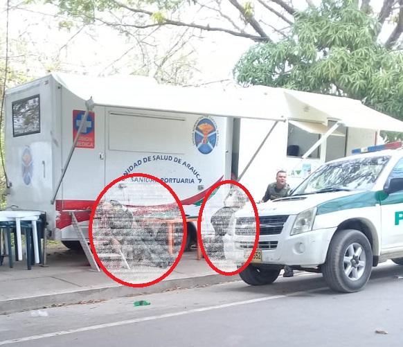 En atentado asesinan a dos Agentes de la Policía Aduanera en en el puente internacional José Antonio Páez en Arauca