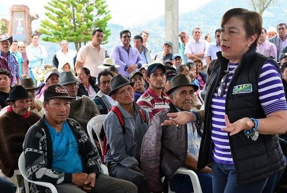 Investigan y suspenden provisionalmente a la directora de la Agencia Nacional de Desarrollo Rural, Claudia Ortiz