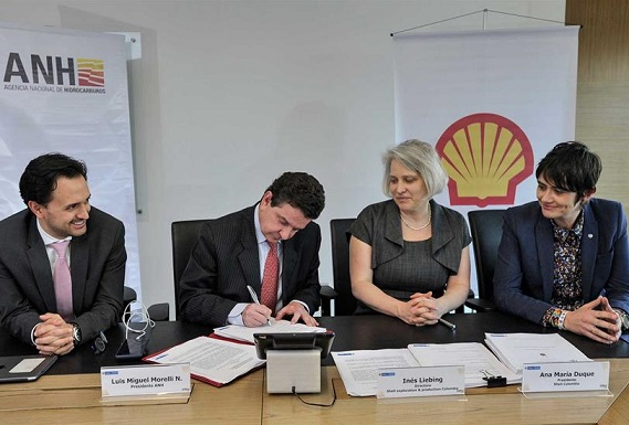 La Agencia Nacional de Hidrocarburos y Shell firman dos contratos de exploración y producción costa afuera en el Caribe