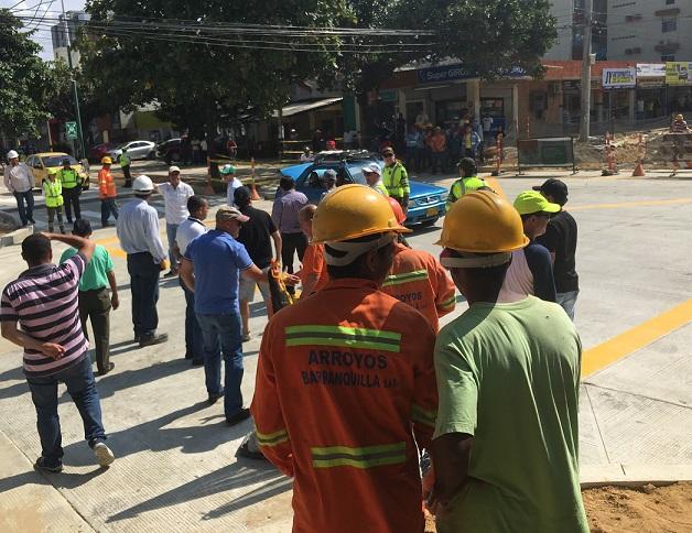 Distrito advierte sobre uso de falsos permisos para manejo de escombros de construcciones en Barranquilla