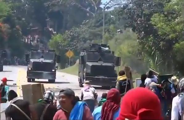 Seis días de violentas protestas indígenas en el sur del país dejan grandes pérdidas, capturan a uno con explosivo fue enviado a la cárcel