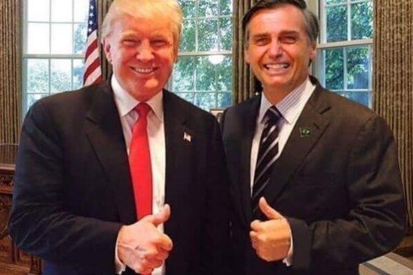Trump y Bolsonaro acordaron a través del Foro de Seguridad de EEUU y Brasil combatir el terrorismo, el narcotráfico y el tráfico de armas. Reiteraron su apoyo a Juan Guaidó