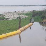 Triple A reanuda el servicio de agua potable en Barranquilla y Soledad, después de limpiar la bocatoma contaminada de basura
