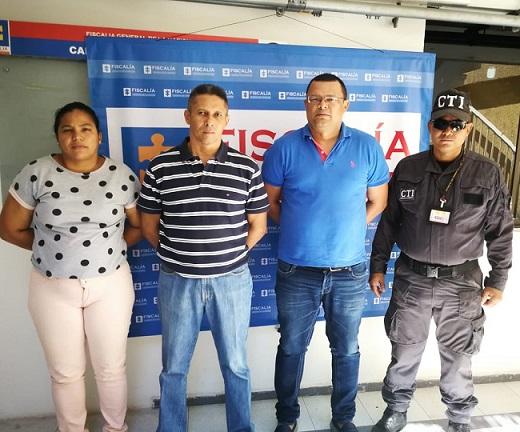 Capturan a tres exfuncionarios de la Universidad Popular de Cesar. Legalizadas las capturas
