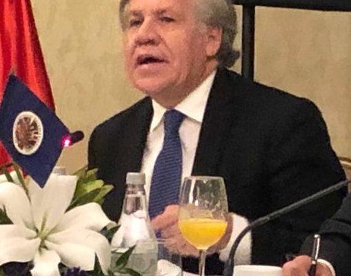 Almagro dice que el Ejército, con el Plan de Acción Oportuno ahora es el protector del Acuerdo Santos Farc, y Duque en el que la OEA participa