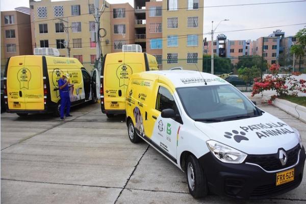 Distrito de Barranquilla pone en funcionamiento patrulla animal de reacción inmediata