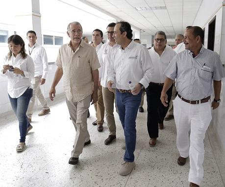 El Atlántico pide apoyo a Supersalud para recuperación de red hospitalaria
