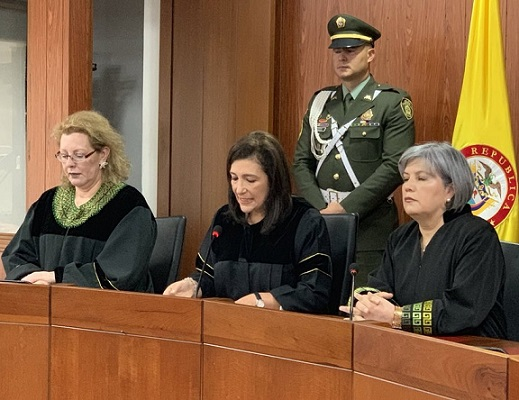 Duque si intervino en la devolución de las visas de los magistrados, según lo afirmado por la Presidente de la Corte Constitucional, Gloria Ortíz