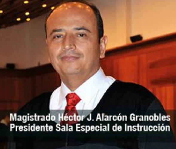Magistrado Héctor Alarcón Granobles de la Sala Especial de Instrucción de la Corte apartó a la Magistrada Lombana de dos casos contra Uribe
