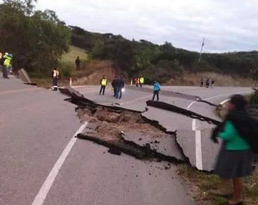 Fuerte sismo de 8 grados en la escala de Richter, en límites de Perú y Ecuador, sacude también a Colombia, Brasil y Bolivia. Empiezan a reportarse daños en Perú