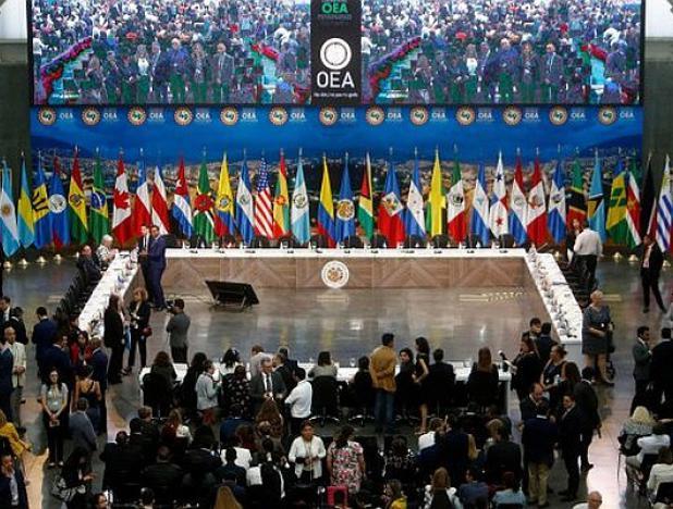 Balance 49 Asamblea OEA: 4 millones de venezolanos han salido de su país ante el hambre del régimen socialista. Sin embargo Uruguay, México Bolivia, y algunas islas del Caribe apoyan al dictador Maduro