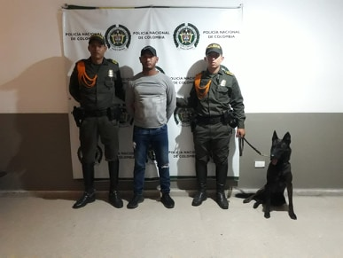 Lo capturan con un kilo de marihuana que transportaba de Barranquilla a Baranoa, Atlántico