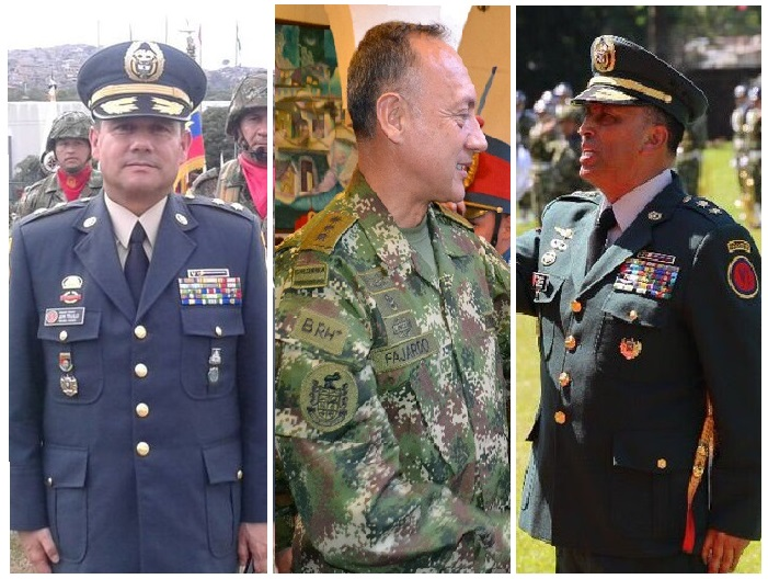 Califican servicio 4 generales del Ejército. Los investigan por corrupción y guerra sucia liderados por el general Mejía, contra el general Nicasio Martínez