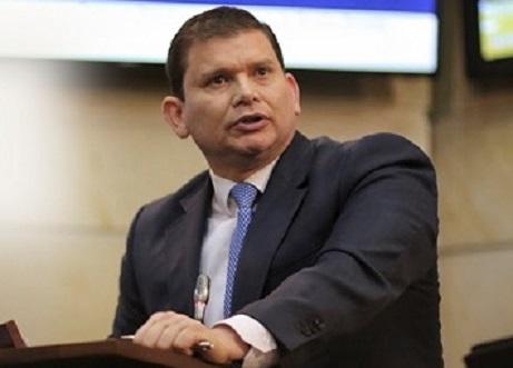 Senador John Milton Rodríguez a nombre de la bancada de Colombia Justa Libre, rindió cuentas de actividades desarrolladas en la primera legislatura