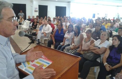 Lista cerrada Uribista al Congreso de 2014 nunca dispuso dinero entre los miembros