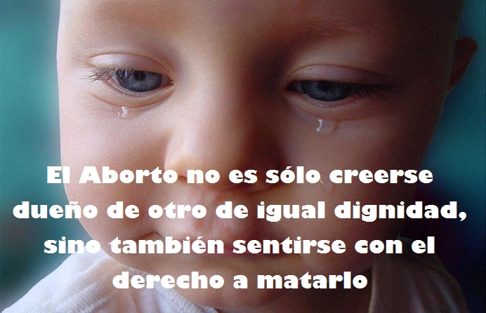 El Estado incita al delito con publicidad en TV. El Aborto es un delito tipificado en el Código Penal, NO es un derecho