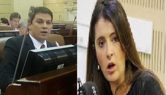 Congresistas: Paloma Valencia y Daniel Cabrales piden revocatoria del Congreso