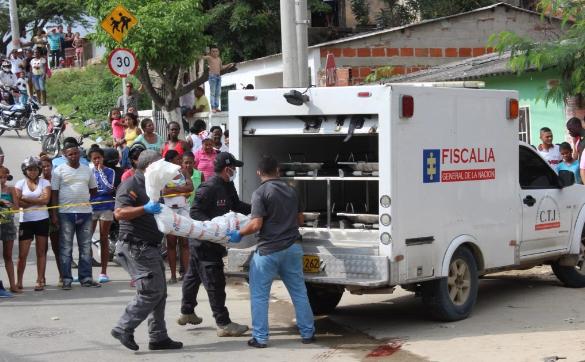 Dos muertos y un herido en balacera en Nueva Colombia, en Barranquilla