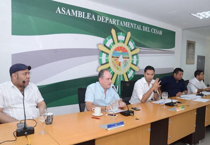 Asamblea del Cesar aprueba componente energético en Secretaría de Minas,para impulsar proyectos de desarrollo en el departamento