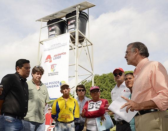 Con un pozo profundo se reactivaría la economía rural en la vereda el Tamarindo de Malambo,