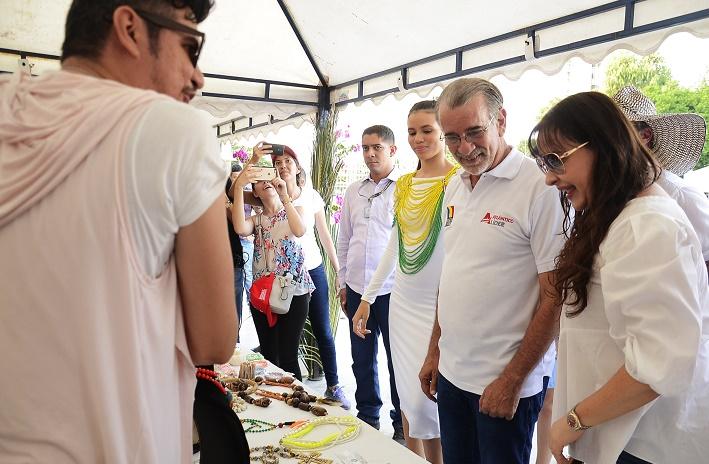 Mercado Campesino y Feria Empresarial en Barranquilla 'sembró' alegría en compradores y vendedores