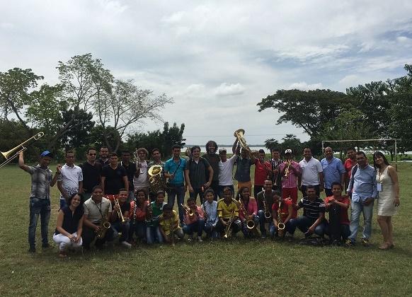 Exitosa gira del Festival Internacional de Música por municipios de Bolívar