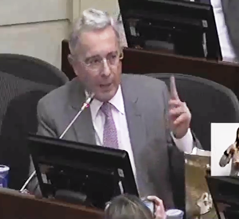 Senador Galán y la López, chupan al Estado pidiendo puesto a Uribe, y dinero para la Fundación Arco Iris